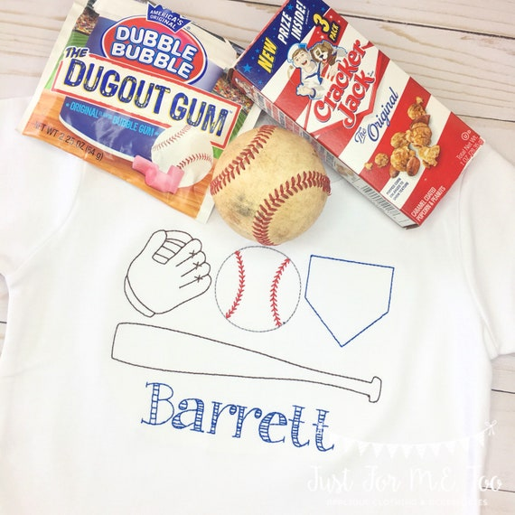 Personalized Boys Baseball Shirt