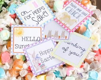 March Bundle Printable Tag Bundle, Easter Digital Tags, Bunny Tag, Sunshine Tag, Pintable, Download, Gift Tags, Chicks