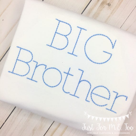 Personalized Big Brother Shirt
