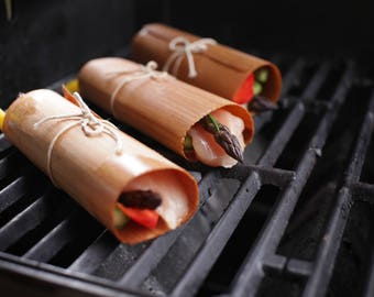 Cedar Grilling Wraps: 20-pack - Husband Gift, Grill Gift, Boyfriend Gift, Father's Day, For Him, For Dad, Man Gift, Outdoors, Cooking, Men