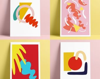 Giclee Printed Collage - 4 Designs Available