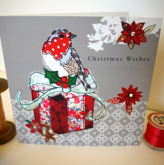 Robin Gift-Greeting Card- handfinished