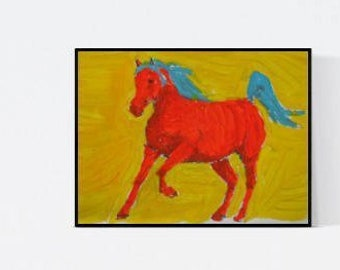 Art with horses