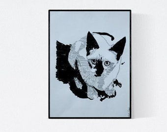 A Gift for Cat Lovers - Cat Portrait