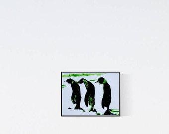 Gorgeous wall decor for penguin fans