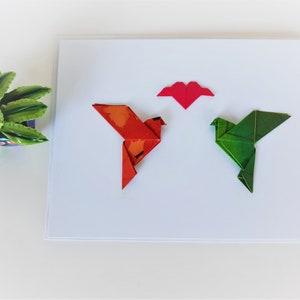 Origami Anniversary card Origami Animal Card Marriage Engagement Card Origami Giraffe Card 3D Wedding Card Unusual Card Funny Card