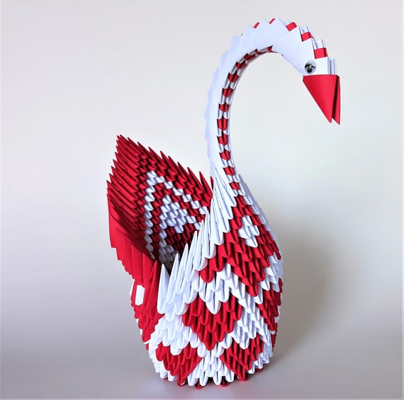 Learn how to make origami swan | Origami swan instructions ... | 565x570