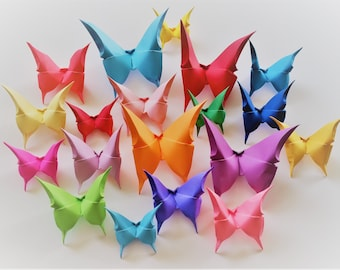 100 Origami Butterflies-Origami Butterfly-Paper Butterfly-Wedding Butterfly-Butterfly Wedding Decoration-Butterfly Art