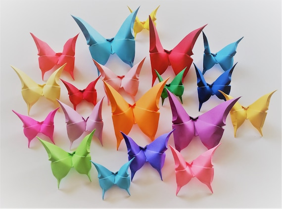 Easy Money Origami Buttefly Folding Instructions - How to Make ... | 423x570