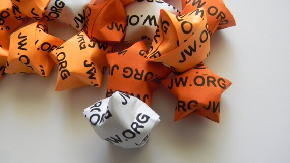 100 Origami Star Jw Org Jw Org Wedding Favor Etsy Bibliotecă online (se deschide o fereastră nouă). etsy