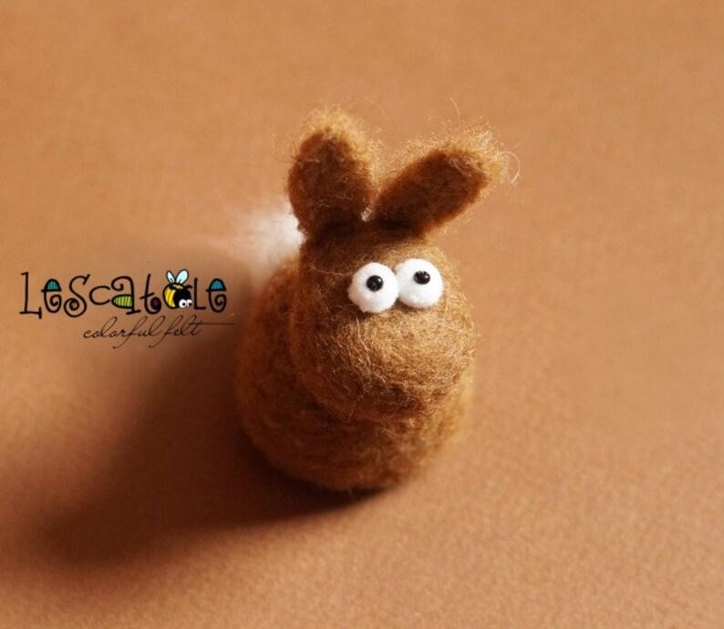 Diy-setNadelfilzen-craft Kit-bunny felts