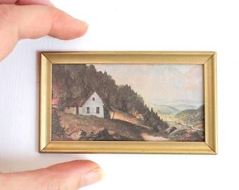 Dollhouse painting | Etsy