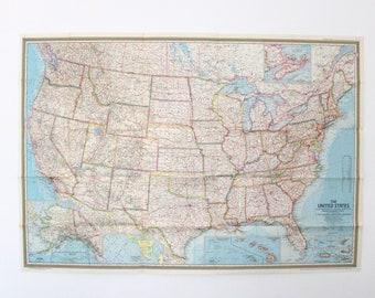 Usa Map Etsy