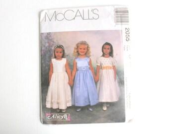 McCall's Pattern, Dress Pattern, Flower Girl Dress, Flower Girl Pattern, Girl's Dress Pattern, Alicyn Exclusive Pattern, McCall's Pattern