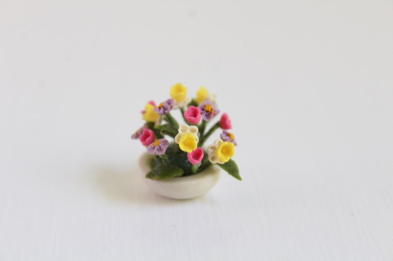 Miniature Flower Bouquet Miniature Flowers Miniature Flower image 0
