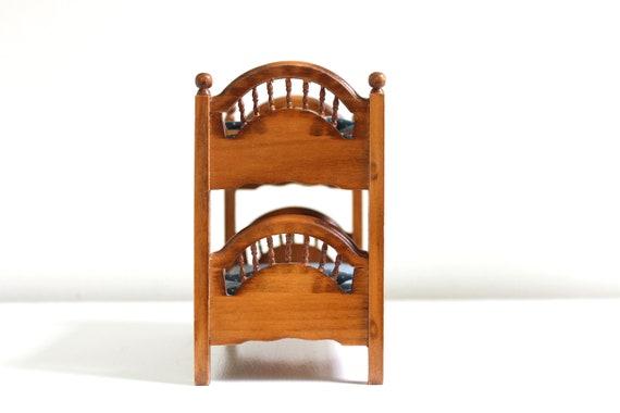 Etagenbett Puppenstube : Miniatur etagenbett. puppenhaus etagenbett bett etsy