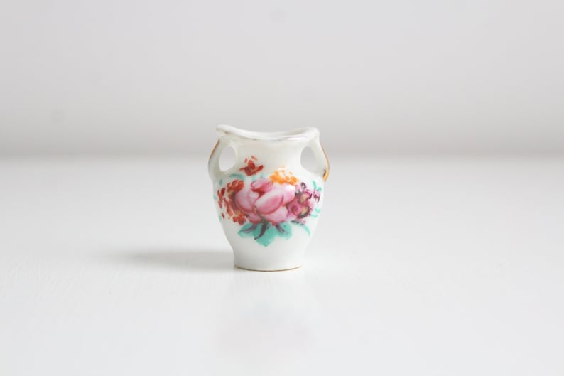 Miniature Vase Dollhouse Vase Mini Vase Floral Vase Flower image 0