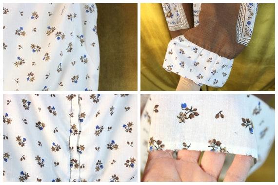 Vintage Dress, Floral Dress, Floral Print Dress, … - image 7