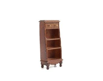 Dollhouse Shelf, Miniature Shelf, Small Dollhouse Shelf, Small Miniature Shelf, Dollhouse Bookshelf, Miniature Bookshelf, Dollhouse Curio