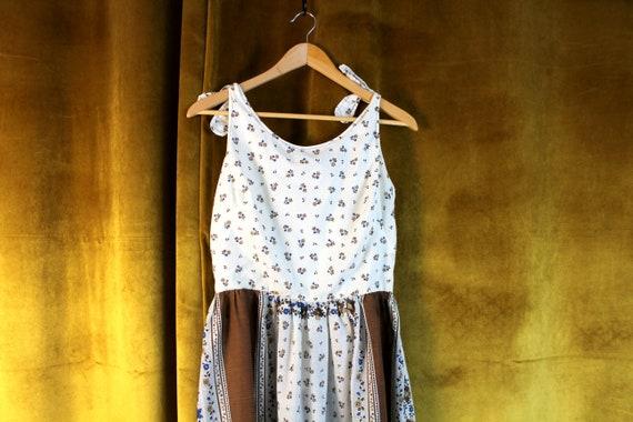 Vintage Dress, Floral Dress, Floral Print Dress, … - image 1