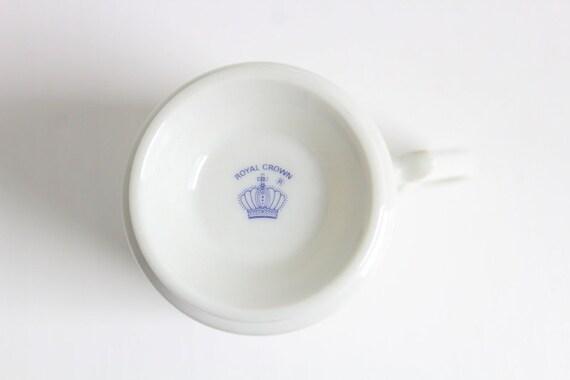 Bird Coffee Cup, Bird Coffee Mug, Footed Bird Mug, Footed Bird Cup, Vintage  Bird Mug, Vintage Bird Cup, Royal Crown Bird Mug, Royal Crown
