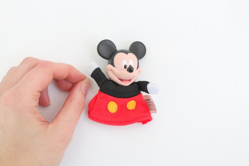 Vintage Mickey Mouse Finger Puppet Mickey Mouse Puppet image 0
