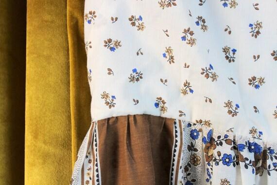Vintage Dress, Floral Dress, Floral Print Dress, … - image 4