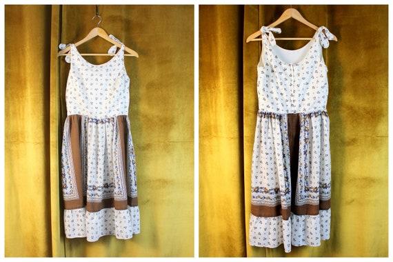 Vintage Dress, Floral Dress, Floral Print Dress, … - image 2