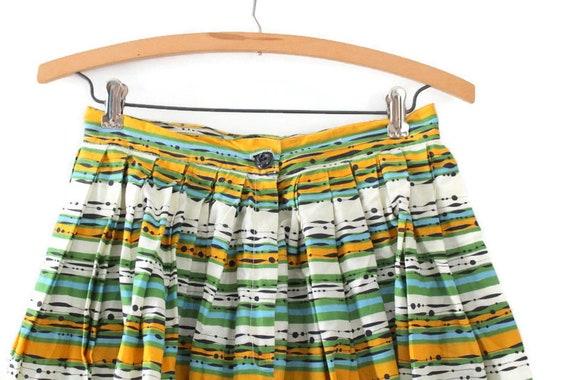 Striped Skirt, Dotted Skirt, Blue Skirt, Green Ski