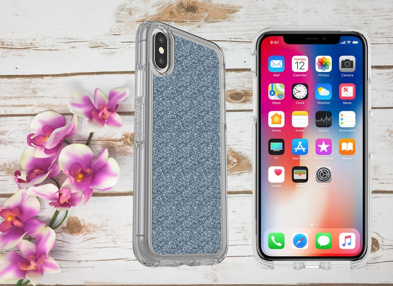 info for f564e 25665 iPhone X Otterbox Case, Symmetry Case for iPhone X, iPhone 10 Otterbox  Case, Metallic Glittery Case for Girls, Sparkly iPhone X Case Cover