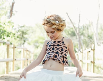 Tribal Crop Top