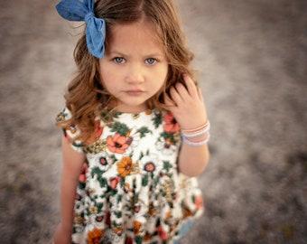 Floral Bella Babydoll Top