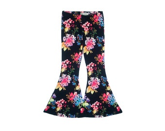 Electric Floral Bell Bottoms