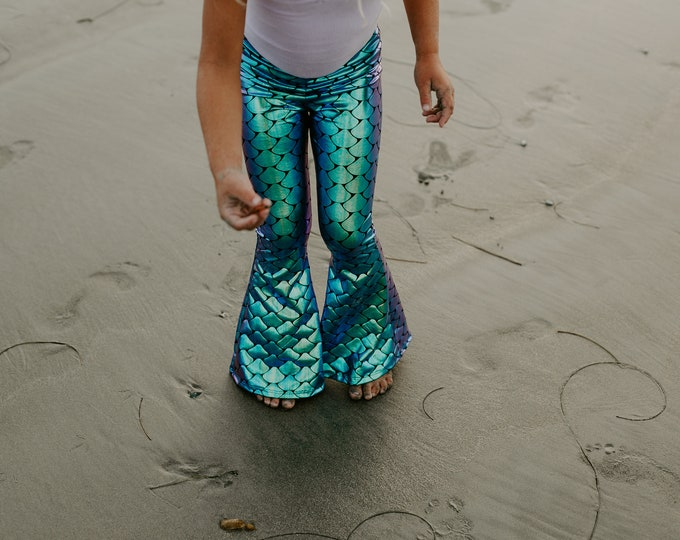 Featured listing image: Mermaid Bell Bottoms