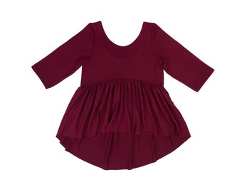 Wine Stella Tunic