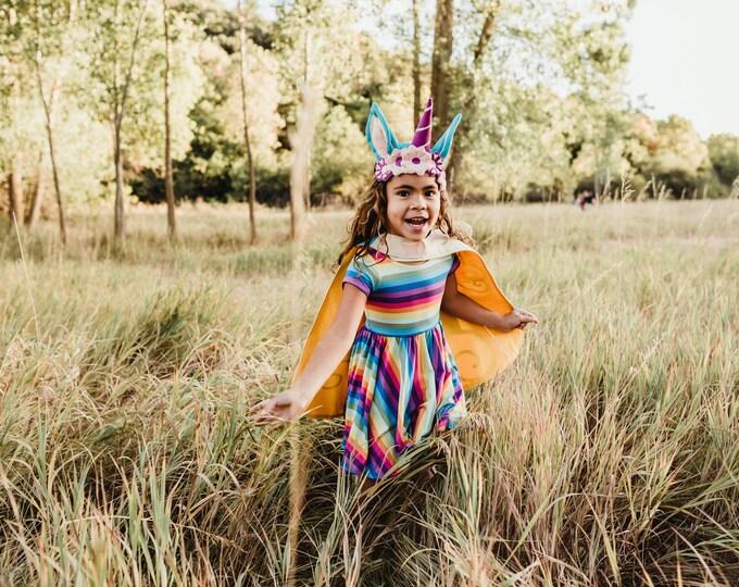 Featured listing image: Pastel Rainbow Dress