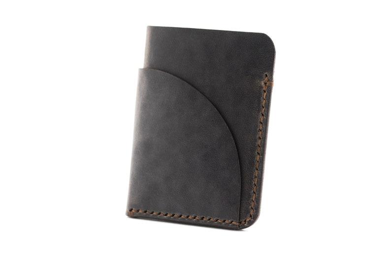 Portemonnee Dames Six.Lederen Card Houder Minimalistische Portemonnee Slim Wallet Etsy