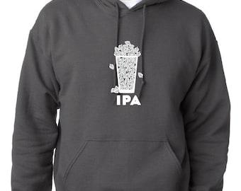Craft Beer Hoodie- IPA- India Pale Ale