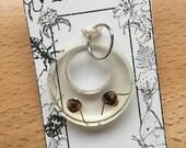 Dubia Skull Hoop Pendant