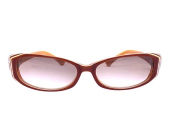CHRISTIAN DIOR!!! Vintage 1990s 'Christian Dior' womens layered acetate framed sunglasses