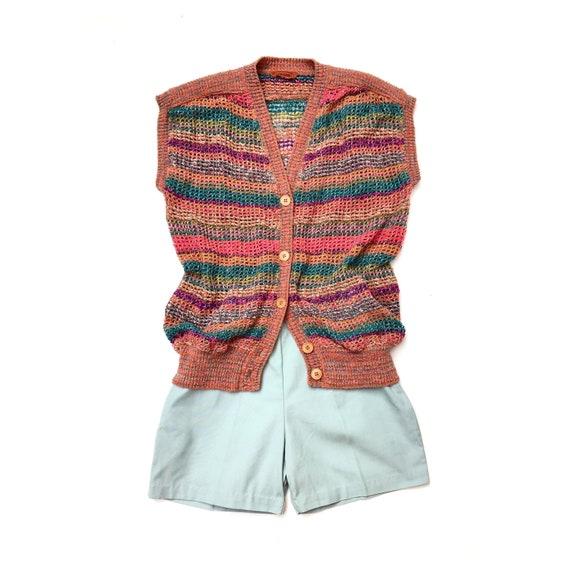 MISSONI!!! Vintage 1970s 'Missoni' knitted sleevel