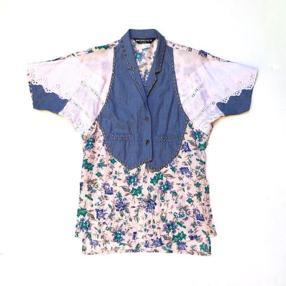 MERIVALE!!! Vintage 1980s 'Merivale' patchwork den