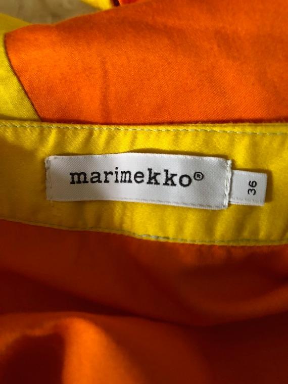 MARIMEKKO!!! Vibrant 'Marimekko' spliced cotton d… - image 5
