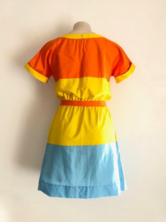 MARIMEKKO!!! Vibrant 'Marimekko' spliced cotton d… - image 4