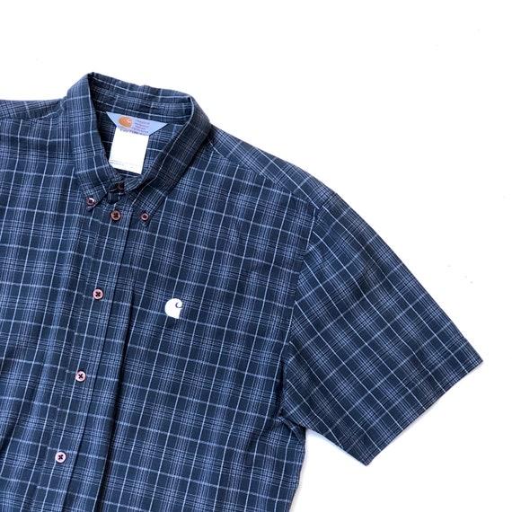 CARHARTT!!! Mens 'Carhartt' checked grey shirt - image 4