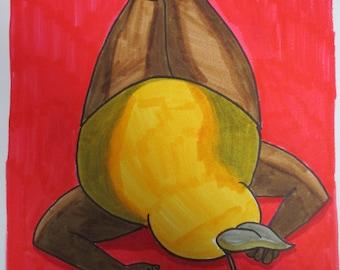 Pear In Repose