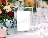 Wedding Table Numbers with Silver Frames Calligraphy, Metallic Wedding, Centerpieces, Geometric Terrarium Floating Frames