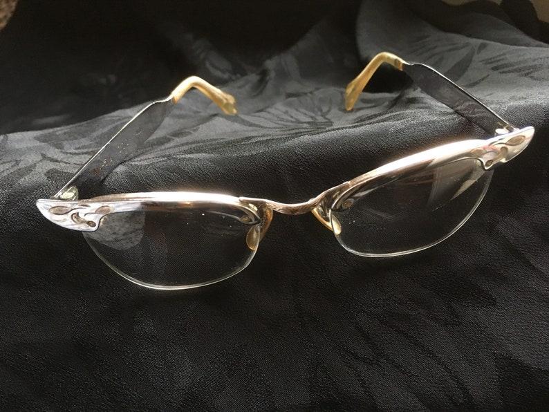 b04663088013 Silver Eye Glasses COC Vintage Aluminum Retro Optical Frames | Etsy