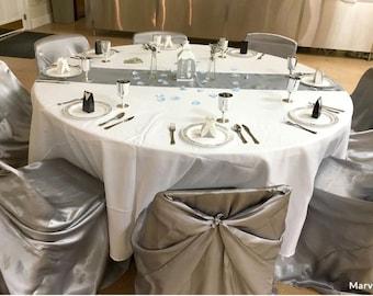 Silver Table Decor Etsy