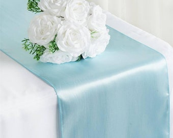 Blue Table Runner Etsy